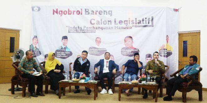 Diskusi BEM Unila Bahas IPM Bersama Caleg