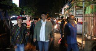Andi Surya Meninjau Kebakaran Pasar PKL Cenderawasih Metro