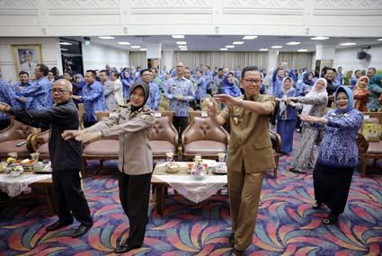 Pemprov Lampung Peringati HKN ke-55