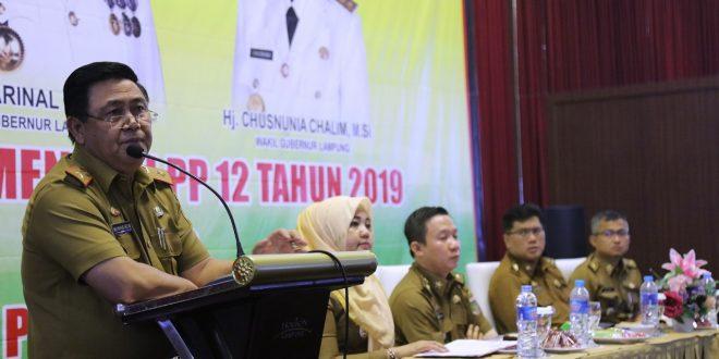Gubernur Arinal Dorong Implementasi Aplikasi SIPPKD