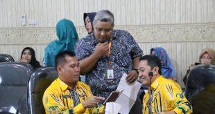 Diskominfotik Koordinator Seksi Humas dan Publikasi, Gelar Rapat HUT ke-56 Provinsi Lampung