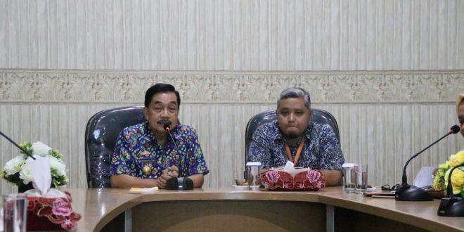 BPS Lampung Pendampingan Sensus Penduduk Online di Diskominfotik