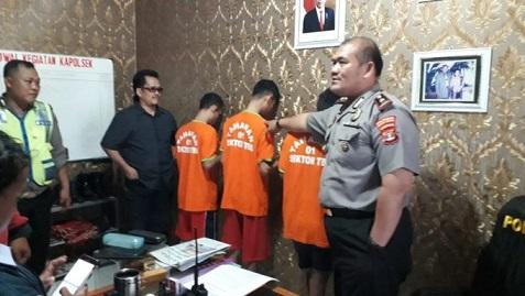 Polisi Tangkap Tiga Buruh Penjual Sabu 410 Gram