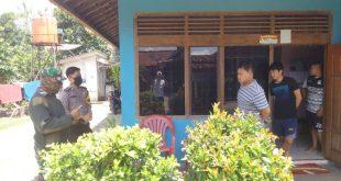 Pulang Kampung Ditengah Wabah *Corona, Babinsa dan Babinkamtibmas Sosialisasi Warga*