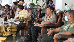 Gubernur Arinal Video Conference Bersama Bupati/Walikota se-Lampung, Serius Tangani Pencegahan Covid-19