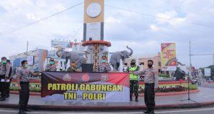 148 Personil Gabungan TNI-Polri, Patroli Gabungan Skala Besar di Provinsi Lampung