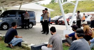 Ditlantas Lampung Amankan Puluhan Travel Gelap di Pintu Tol Bakauheni