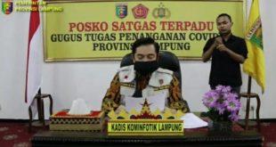 Terdampak Covid-19, Pemprov Lampung Salurkan 15.468 Paket Sembako