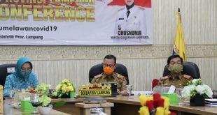 Pemprov Lampung Siap Laksanakan Inpres Nomor : 6 Tahun 2020