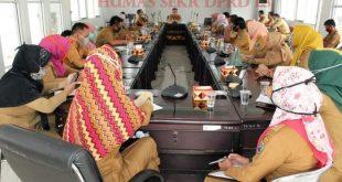 Sekretariat DPRD Lamsel Bekali Para Staf Persiapan Reses Anggota DPRD Ke II