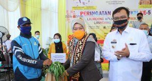 HUT UMKM ke-5, Pemprov Lampung Launching Aplikasi Pasar Berjaya