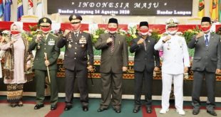 Gubernur Arinal Hadiri Rapat Paripurna Istimewa DPRD Provinsi Lampung