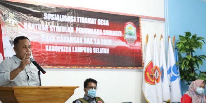 Sosialisasi BSPS Tingkat Desa, Nanang Pesan Warga Pesisir Pantai Tidak Lupakan Sejarah