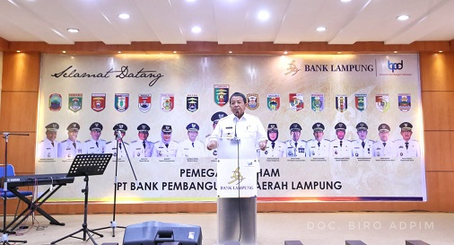 Gubernur Minta  Direksi Bank Lampung Lebih Profesional