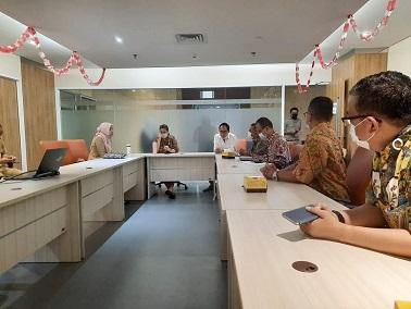Matangkan Persiapan HPN, Panitia Pusat Rapat dengan Diskominfo DKI Jakarta