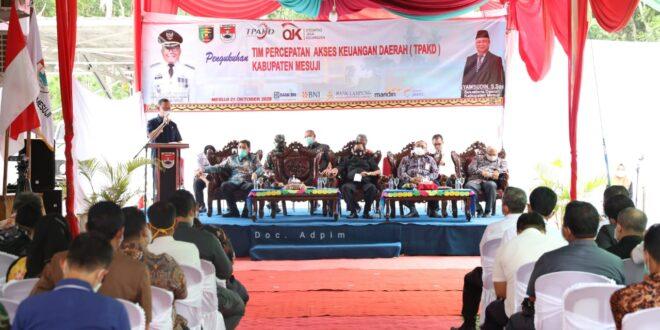 Gubernur Arinal Dorong Kabupaten Mesuji Untuk Membangun Ekonomi Demi Kesejahteraan Masyarakat