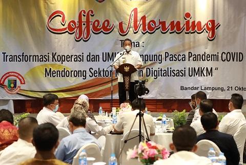 Gubernur Arinal Dorong Pengembangan Koperasi dan UMKM Lampung