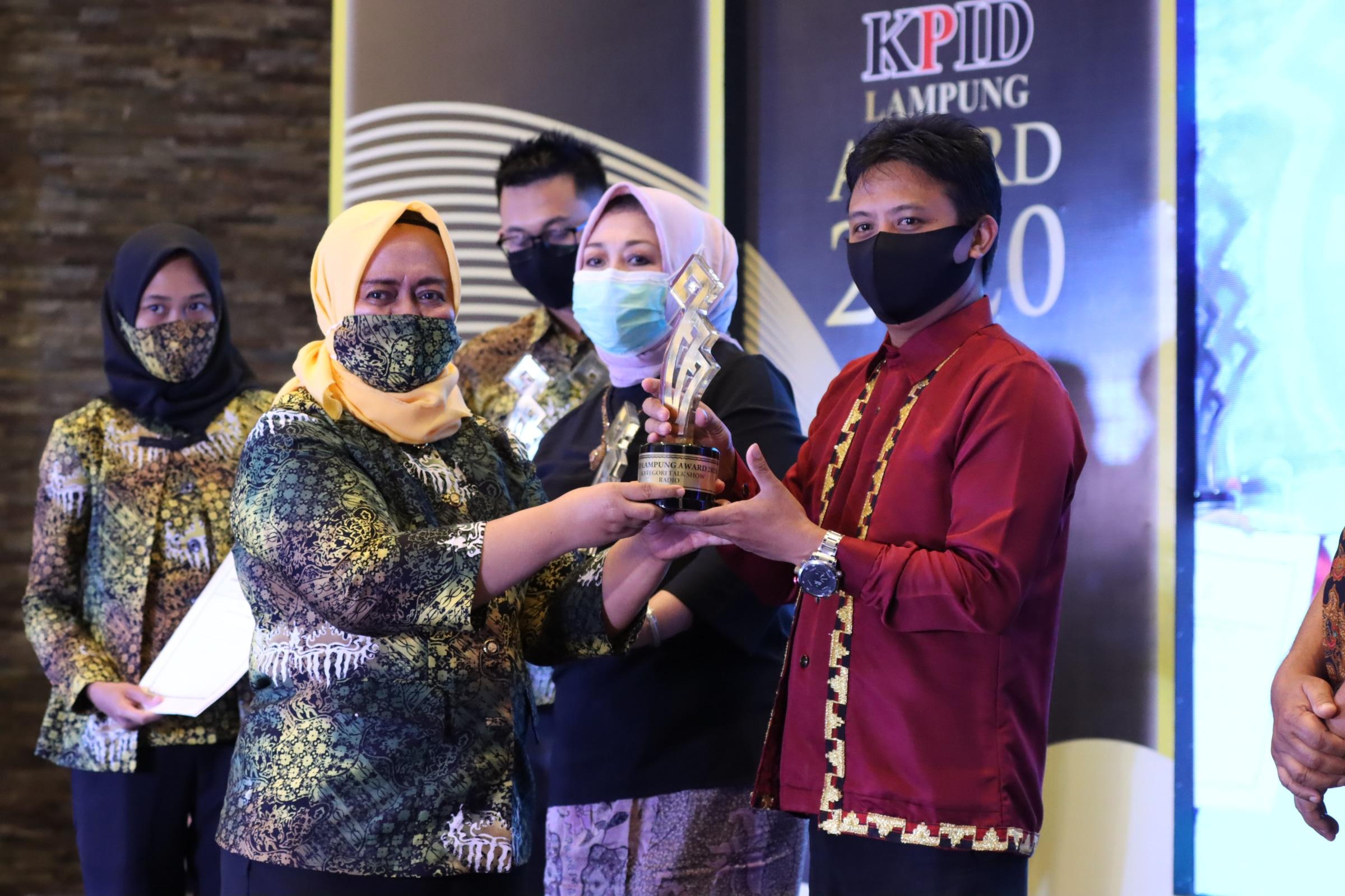 KPID Lampung Award 2020 digelar, Gubernur Lampung sampaikan Harapan dan Apresiasi