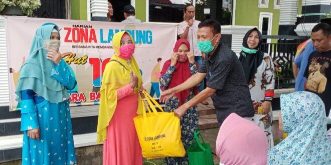 HUT SKH Zona Lampung Ke 10 Laksanakan Baksos