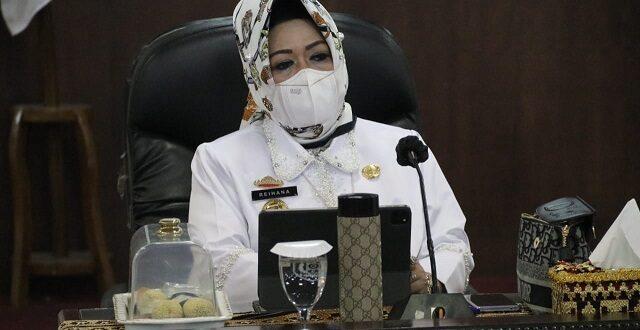 Pemprov Lampung Gelar Rakor Antar Lembaga Bahas Rencana Operasional Penegakan Hukum Adaptasi Kebiasaan Baru