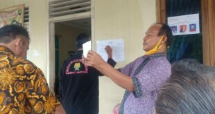 Pemilih Ketua RT 02 Gunung Sulah Mirip Pilkada