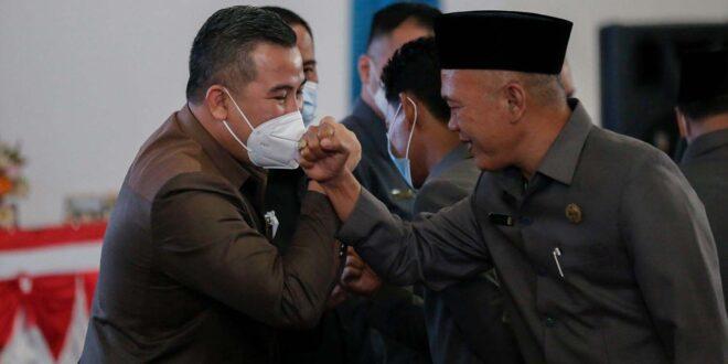 Dendi Ramadhona Ajak Nasir-Naldi Bangun Pesawaran Bersama