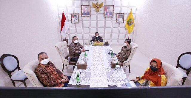 Gubernur Arinal Ikuti Pertemuan Tahunan Industri Jasa Keuangan 2021 secara Virtual, yang Dihadiri Presiden dan Para Menteri