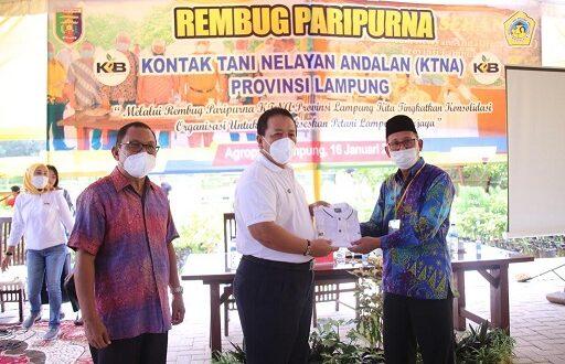 Buka Rembuk Paripurna KTNA Lampung, Gubernur Arinal Beri Semangat Petani dan Nelayan Sukseskan Kartu Petani Berjaya