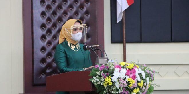 Riana Sari Arinal Lantik 7 Ketua TP PKK Dan Dekranasda Hasil Pilkada Serentak Tahun 2020
