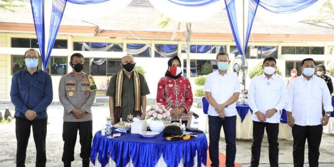 Sekdaprov Fahrizal bersama Menkop Kunker ke Dipasena