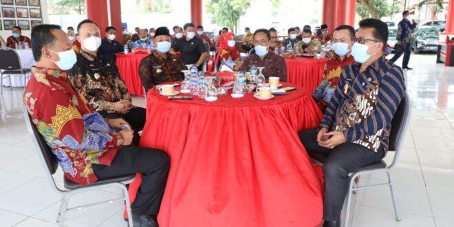 Silaturahmi, Nanang-Pandu Ajak DPRD Bersinergi Bangun Lampung Selatan