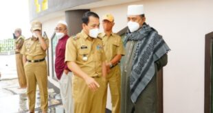 Walikota Metro Wahdi Siradjuddin dan Wakil Walikota  Kunjungi Masjid Taqwa Kota Metro