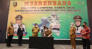 Buka Musrenbang 2021, Gubernur Arinal Jadikan Tahun 2022 sebagai Tahun Kunci Pemulihan Ekonomi