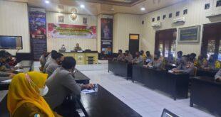 Kapolres Lampung Utara Instruksikan Para Bhabinkamtibmas Terapkan Testing, Tracing, dan Treatment (3T) Secara Benar