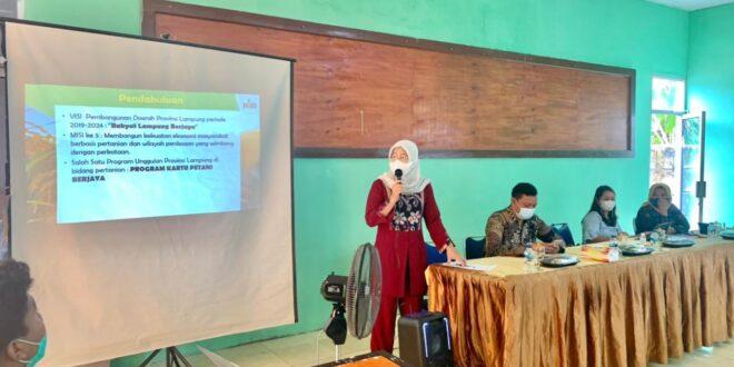 Percepat Distribusi Pupuk Bersubsidi, Dinas KTPH Provinsi Lampung Gelar Bimtek Di Mesuji