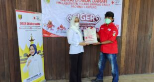 Ketua PMI Lampung kunjungi Kab.Tulang Bawang