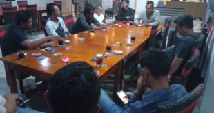 Paparkan Program Kerja, Nizwar Jemput Bola ke PWI Kabupaten